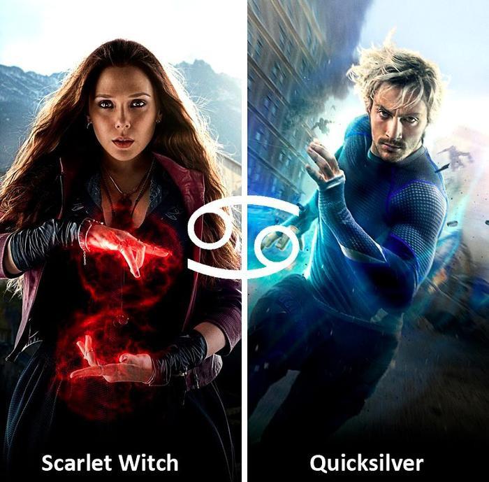 Cặp đôi đã gây rất nhiều khó khăn cho biệt đội Avengers.