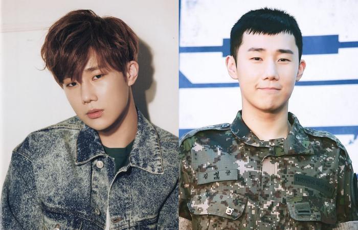 Kinh nghiệm làm thực tập sinh đã giúp Sunggyu thích nghi khá nhanh với môi trường quân đội.