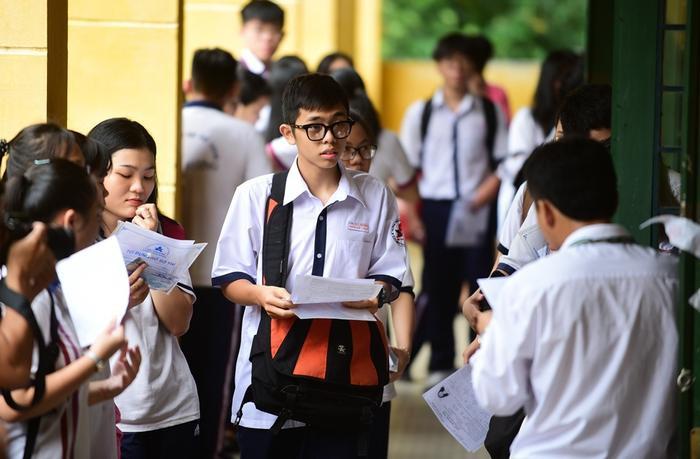 Có 95 bài thi của các thí sinh tỉnh Tây Ninh được tăng điểm sau khi chấm phúc khảo. Ảnh: Thanh Tùng/Vietnamnet