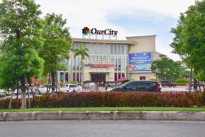 Khu đô thị Our City nơi cảnh sát triệt phá ổ nhóm đánh bạc.