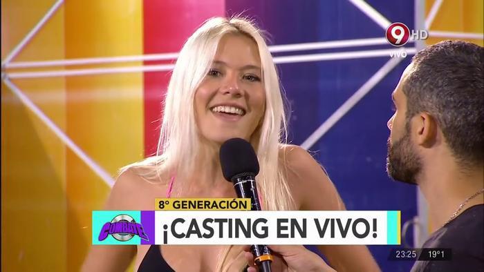 Bạn gái cũ của Messi, Macarena Lemos vừa tham gia một chương trình của đài Maxres.