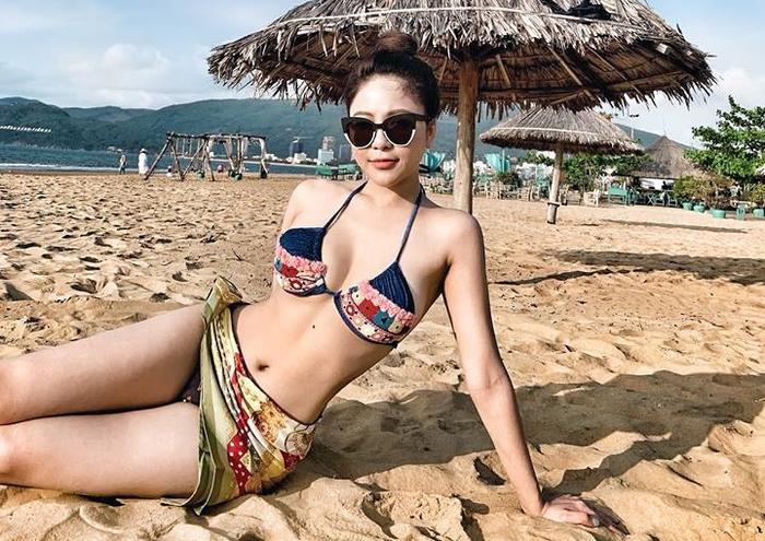 Hot girl Trâm Anh đang trở lại một cách ấn tượng.