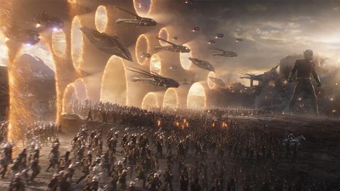 Các anh hùng đã được đưa đến chiến trường qua các cổng không gian.