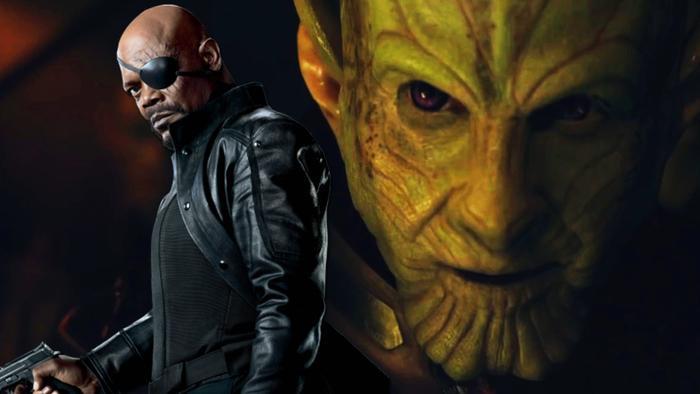 Nick Fury trong bộ phim Spider Man: Far From Home thật ra là do một Skrull biến thành.