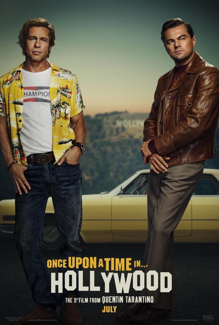 Poster phim Chuyện ngày xưa ở Hollywood.