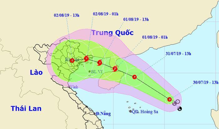 Trong 24h tới, áp thấp nhiệt đới khả năng sẽ mạnh lên thành bão. (Ảnh: TTKTTVQG)