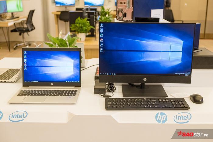 HP EliteOne 800 AiO G5: Máy tính để bàn cung cấp hiệu năng tốt với những tùy chọn đồ họa rời và các tính năng bảo mật.