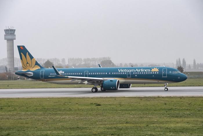Chuyến bay của hãng hàng không Vietnam Airlines. Ảnh minh hoạ.