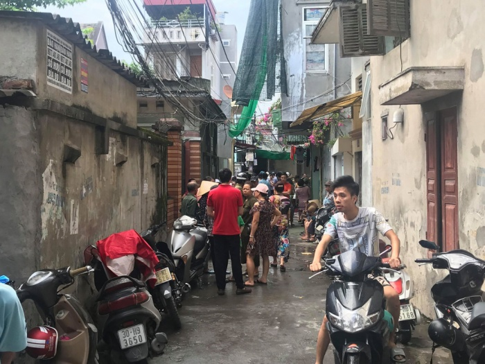 Hiện, Công an quận Hồng Bàng đang phối hợp với các đơn vị nghiệp vụ Công an Hải Phòng điều tra, làm rõ nguyên nhân vụ nổ.