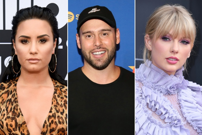 Demi Lovato từng là cái tên rất hot trong ồn ào của Taylor Swift và Scooter Braun.