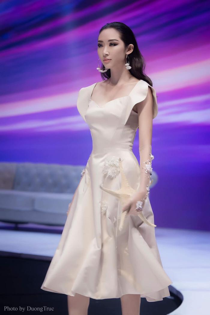 Nguyễn Thị Thanh Khoa – 1 trong 3 đại diện của ĐH HUTECH lọt vào Top 39 Chung kết Toàn Quốc Miss World Việt Nam 2019.