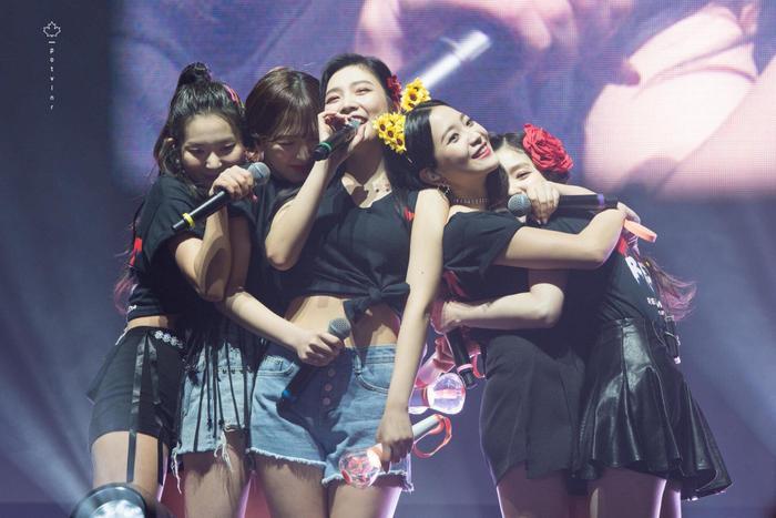 Các thành viên Red Velvet.