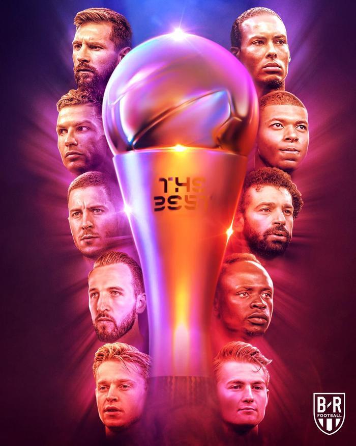 Danh sách đề cử giải thưởng The Best 2019.
