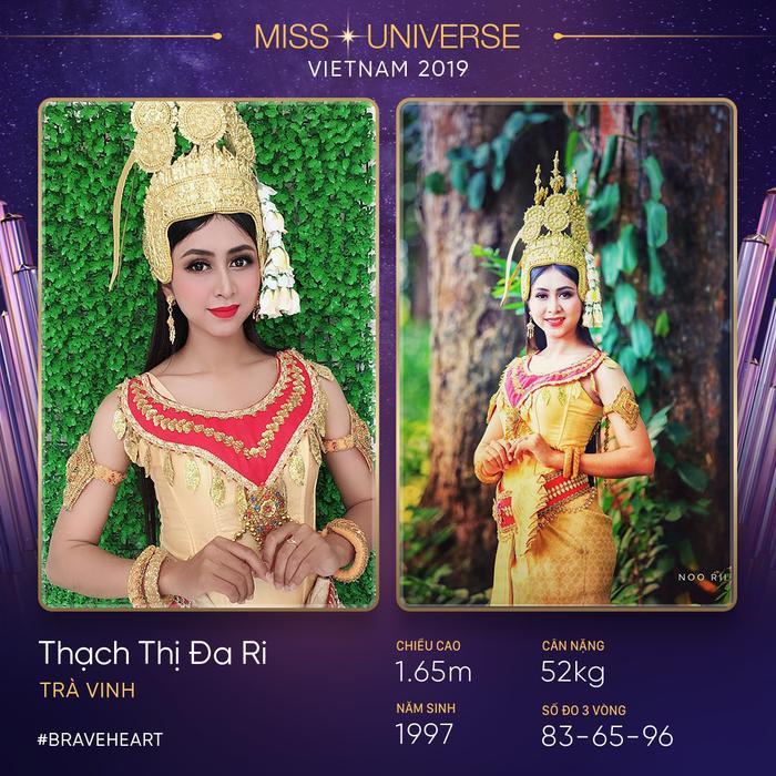 """Thạch Thị Đa Ri – người đẹp dân tộc Khmer. Dù có chiều cao khiêm tốn nhưng cô tin rằng, chỉ cần có niềm tin, có thể làm được mọi chuyện, như câu nói của Hoa hậu H'Hen Niê: """"I can do it, You can do it""""."""