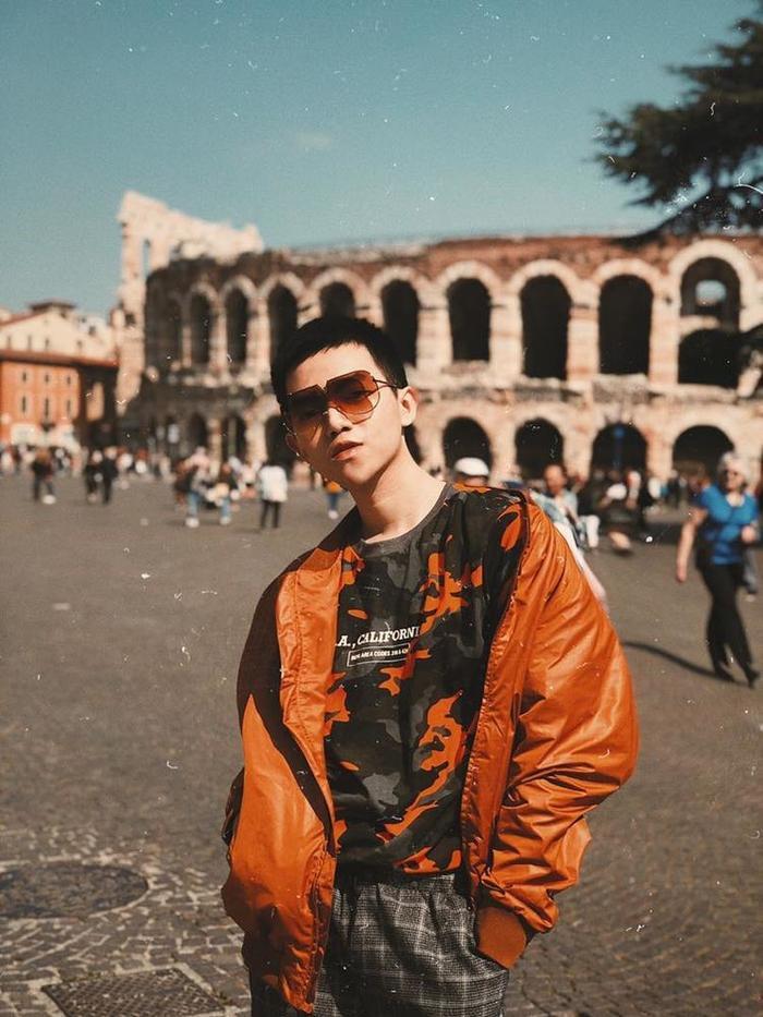 Phan Đăng Hoàng tại Ý.