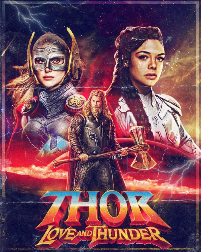 Đã có một poster về phần 4 của Thor.