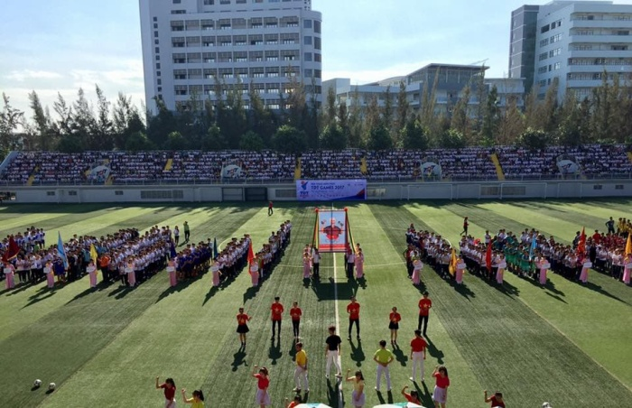 Đây còn là nơi thường xuyên diễn ra các giải đấu thể thao quy mô