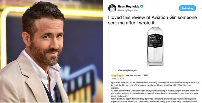 Fake review dưới tên Champ Nightingale của Ryan Reynolds