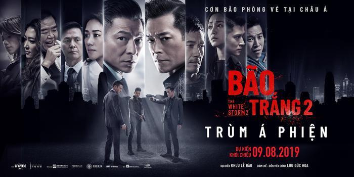 'Bão Trắng 2: Trùm Á Phiện' mở màn thành công với doanh thu cao nhất tại các nước châu Á.