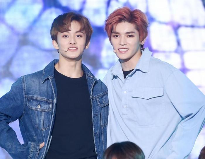 Taeyong và Mark.