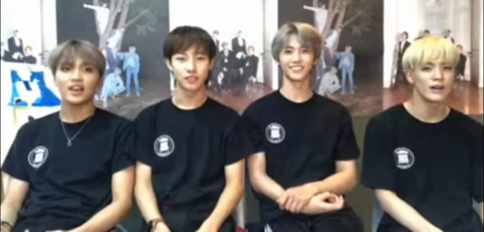 NCT mới đây đã có một buổi livestream để trò chuyện cùng người hâm mộ.