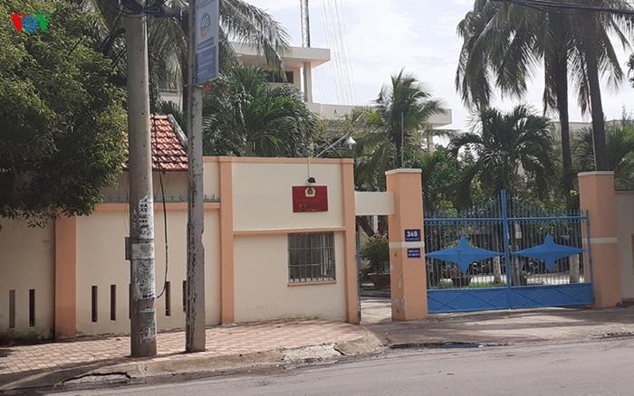 Trại tạm giam Công an tỉnh Bình Thuận trên đường Thủ Khoa Huân, TP Phan Thiết