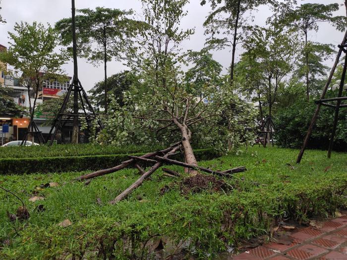 Người Hà Nội vật vã ra đường, nhiều tuyến đường ngập do ảnh hưởng của bão số 3 ảnh 3
