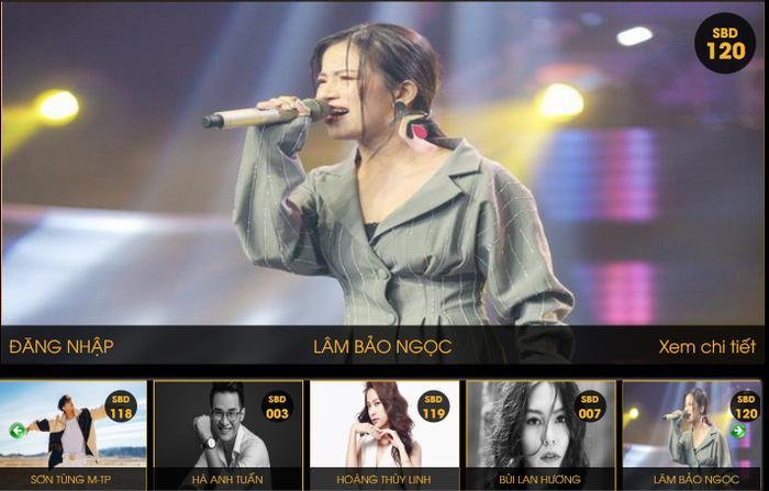 Lâm Bảo Ngọc xuất sắc lọt vào Top 11 danh sách đề cử VTV Awards.