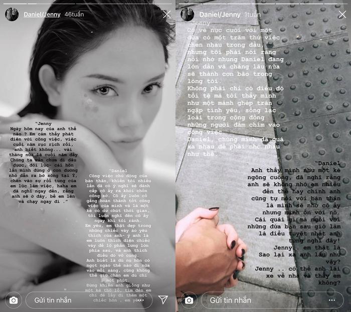 Trên trangcá nhân Linh Rin có riêng một mục nói về tình yêu, cư dân mạng đồn đoán chàng trai không ai khác ngoài Phillip Nguyễn.