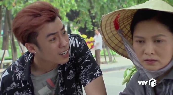 Thái độ lấc cấc, hỗn láo của nhân vật Quang khiến khán giả bức xúc.