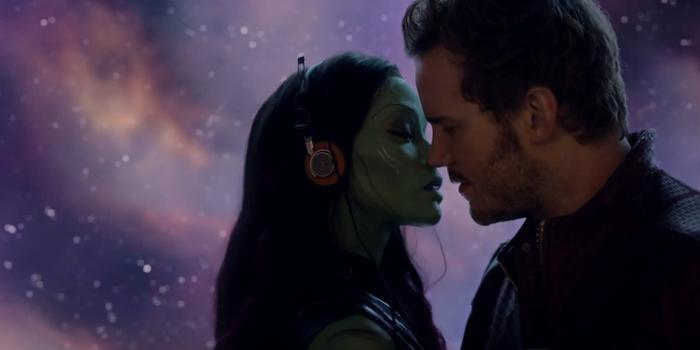 Mối quan hệ như tàu lượn siêu tốc của Gamora và Peter Quill rất được fan mến mộ.