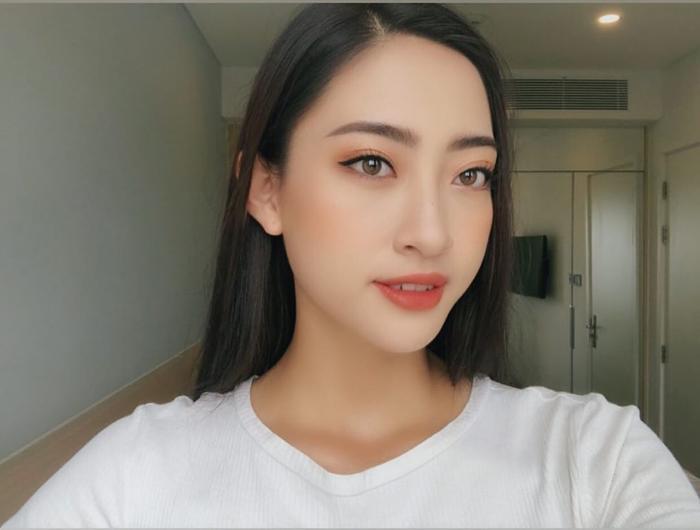 Khuôn mặt rạng rỡ với những đường nét sắc xảo của tân hoa hậu đến từ Cao Bằng.