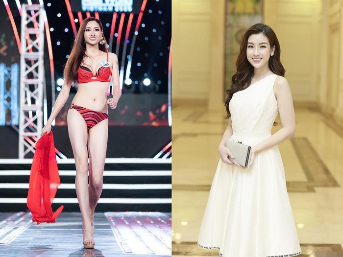 Cả hai cùng sở hữu gương mặt đẹp ngọt ngào, vóc dáng chuẩn, học đại học Ngoại Thương.