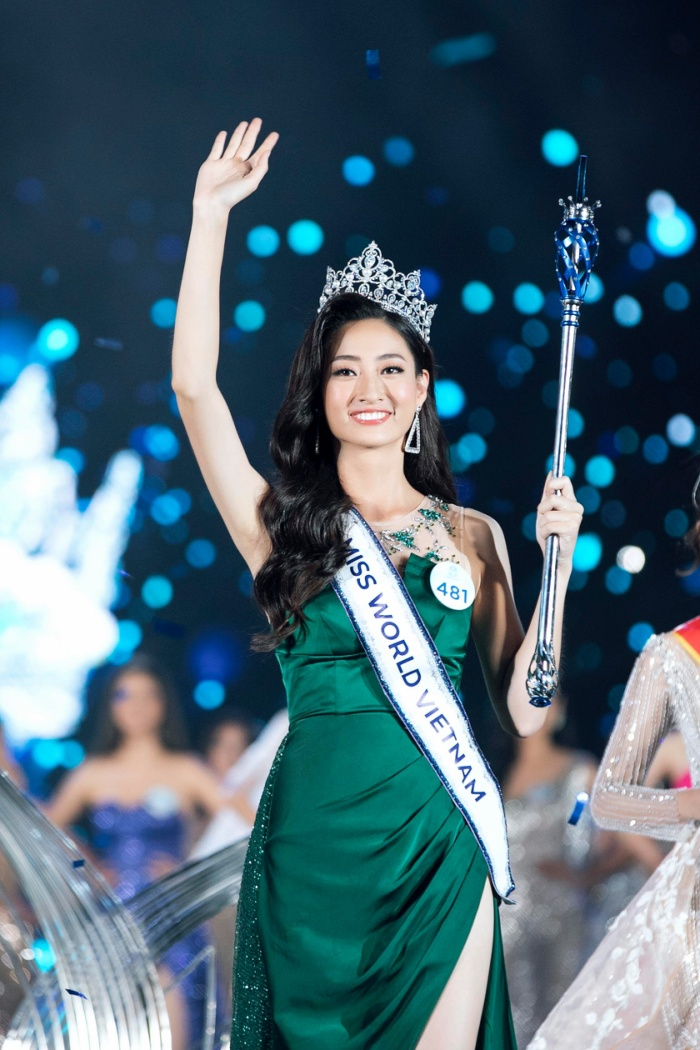 Hoa hậu Lương Thùy Linh - đại diện Việt Nam tại Miss World 2019.