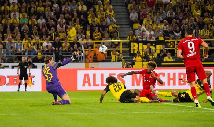 Trong khi đó, Dortmund rất tuân thủ đấu pháp để có những đường tấn công sắc nét.