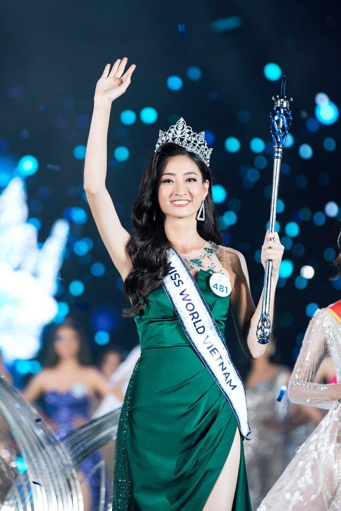 Hoa hậu Lương Thùy Linh – Miss World Vietnam 2019.