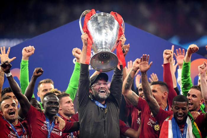 Liverpool đang là đội đương kim vô địch Champions League.