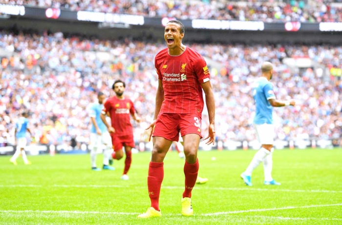 Sau nhiều nỗ lực hãm thành, Liverpool đã có bàn gỡ nhờ công Joel Matip ở phút thứ 77.Nhận đường chuyền vào của Van Dijk bên cánh trái, Matip trong tư thế không bị ai kèm đánh đầu dũng mãnh đưa trận đấu trở về vạch xuất phát.