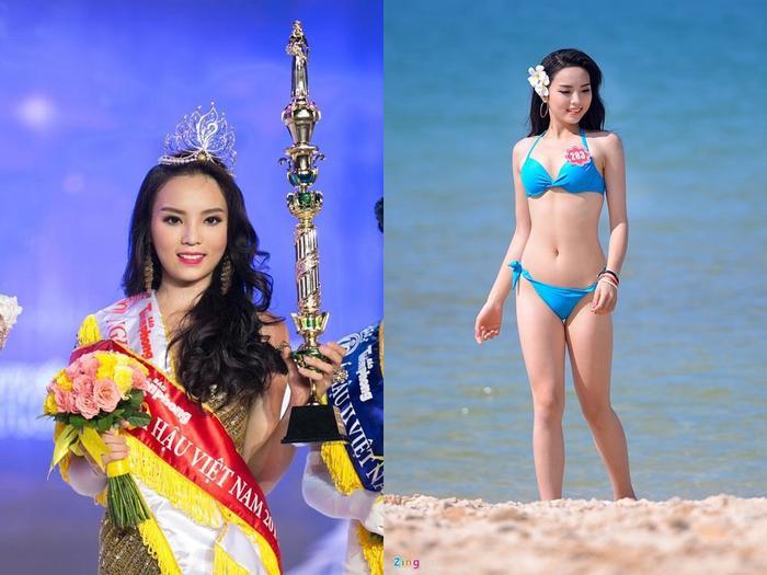 Nguyễn Cao Kỳ Duyên đã đã được xướng tên cho ngôi vị cao nhất trong cuộc thi Hoa hậu Việt Nam 2014.