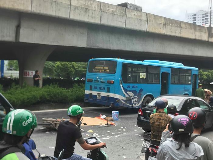 Tai nạn đã khiến một người đàn ông tử vong tại chỗ.