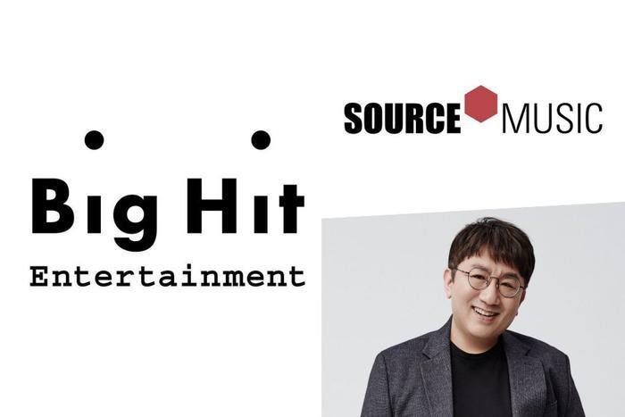 Big Hit ký hợp đồng mua lại cổ phần Source Music.