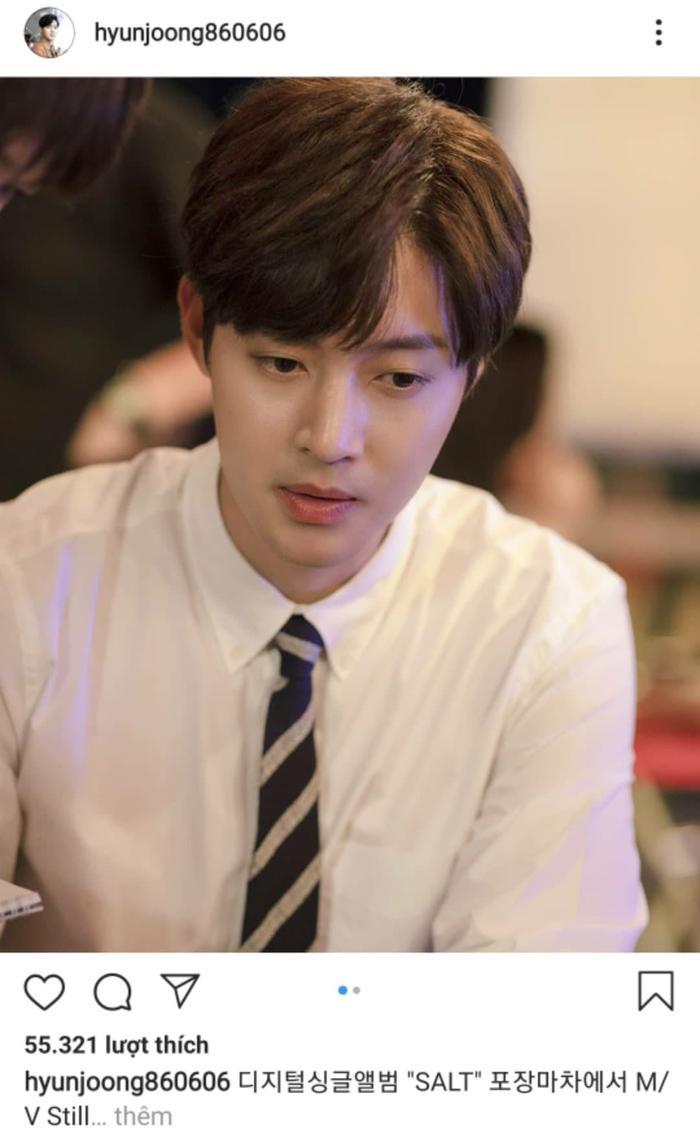 Kim Hyun Joong thông báo cho màn trở lại của mình với MV SALT.