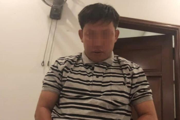 Người đàn ông chị T. tố bị cưỡng hiếp . Ảnh: báo Vietnamnet