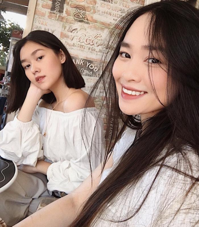 Tường San có một người chị vô cùng xinh đẹp tên Khả Hân.