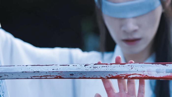 Trần tình lệnh: Phân cảnh hậu trường nốt cao kinh điển của Tiết Dương được thể hiện trên phim như thế nào? ảnh 11