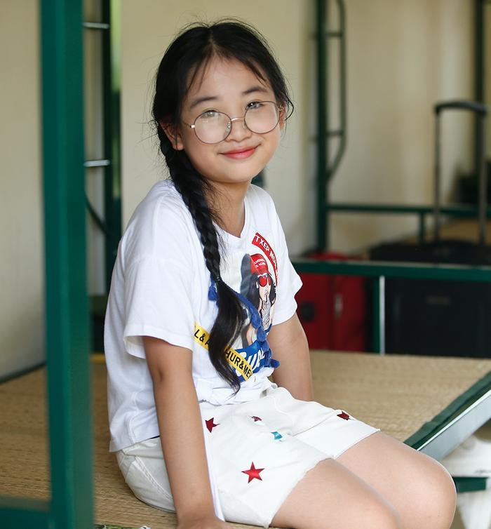 Diễn viên nhí Nguyễn Hà Anh tài năng cũng được xem là ẩn số thú vị tại chương trình
