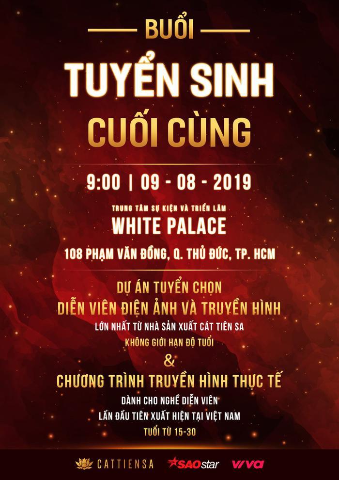 Đạo diễn Đào Bá Sơn – Khả Như cùng ngồi ghế nóng tìm kiếm Ngôi sao điện ảnh 2019 tại Sài Gòn.