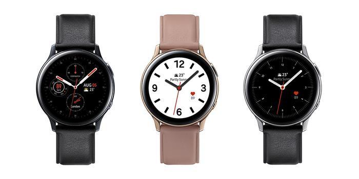 Người dùng cũng có thể thay đổi nhiều loại dây với các phiên bản màu sắc khác nhau trên Galaxy Watch Active 2.