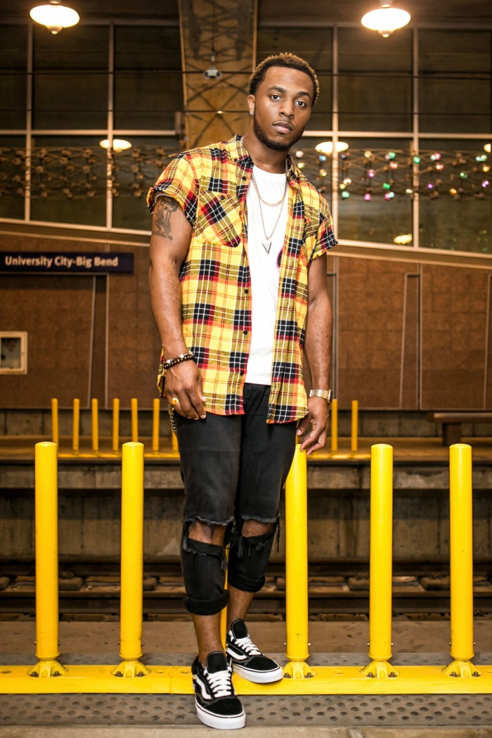Rapper Flame.