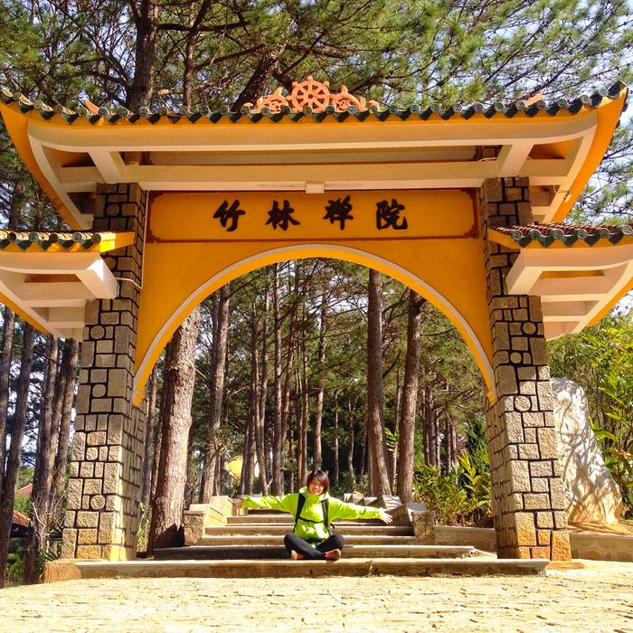 Thiền viện Trúc Lâm được nhiều công ty, đơn vị lữ hành chọn là điểm đến theo tour du lịch Đà Lạt. (Ảnh: IG/nalee189)